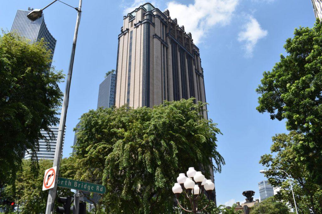 Het `Gotham` gebouw in Singapore