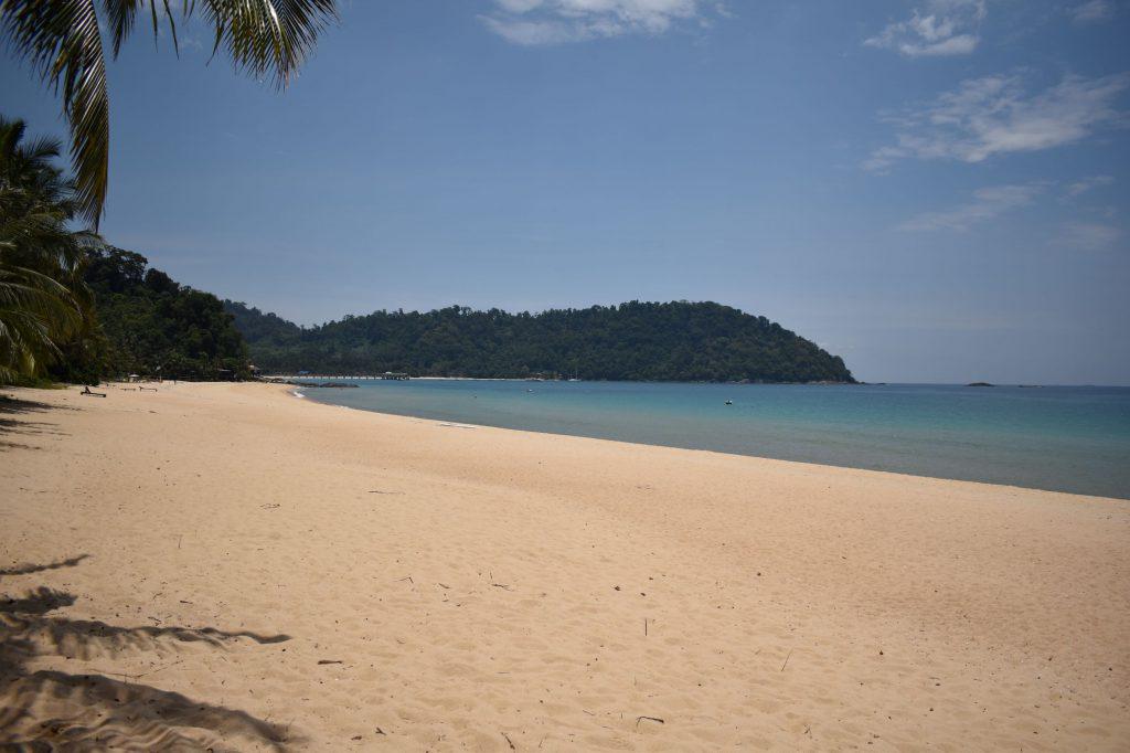 Het strand bij Juara