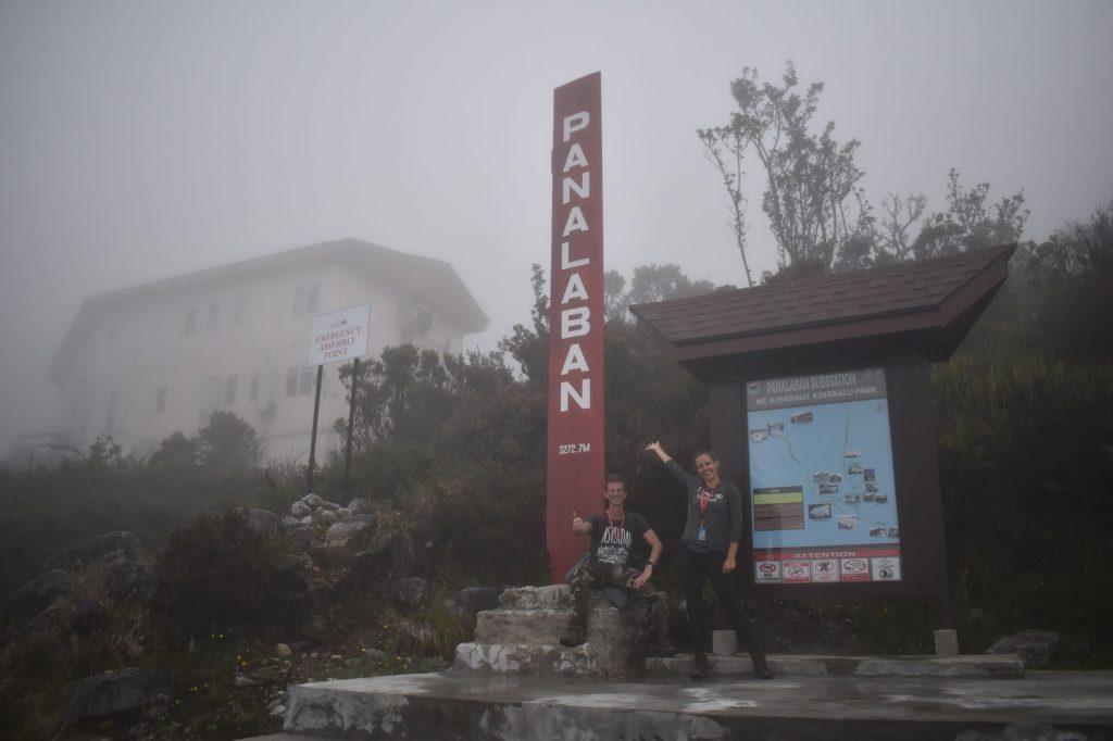 Aangekomen op de Laban Rata lodge