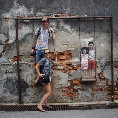 Street art spotten in Georgetown