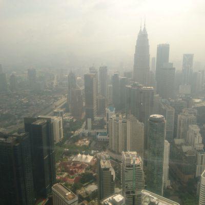 Uitzicht over Kuala Lumpur