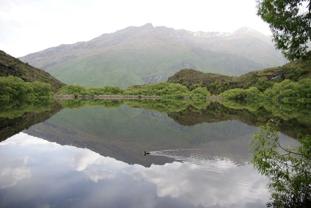 Diamond lake, wat een uitzicht