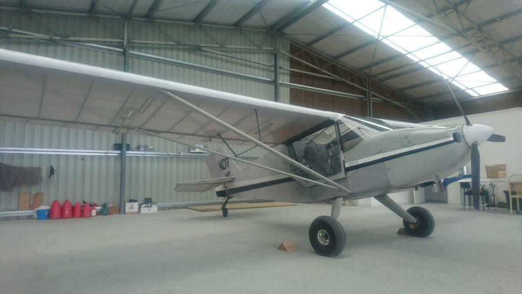 Het modelvliegtuigje