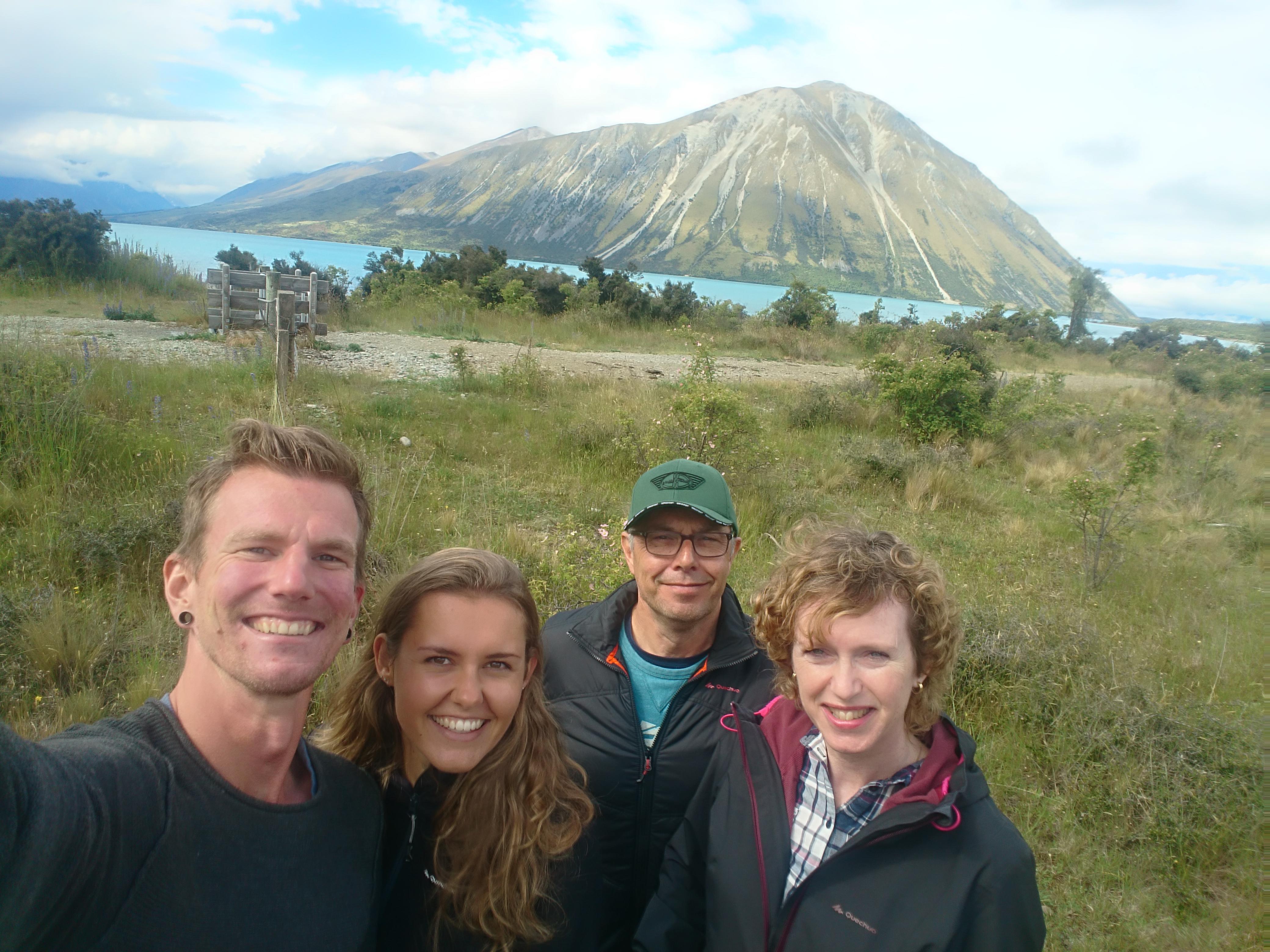 Met Jos en Marleen naar Ohau
